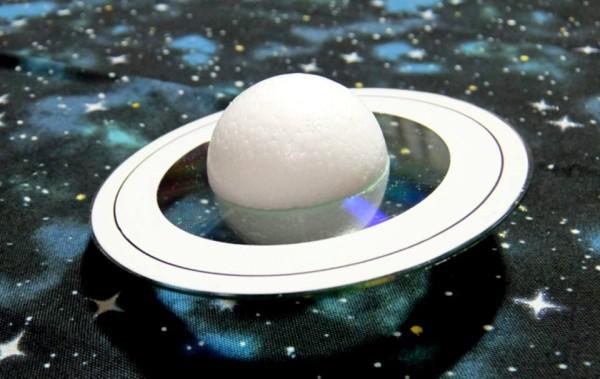 土星模型工作2