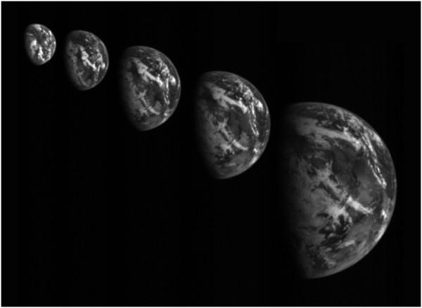 20151203スイングバイ前の地球